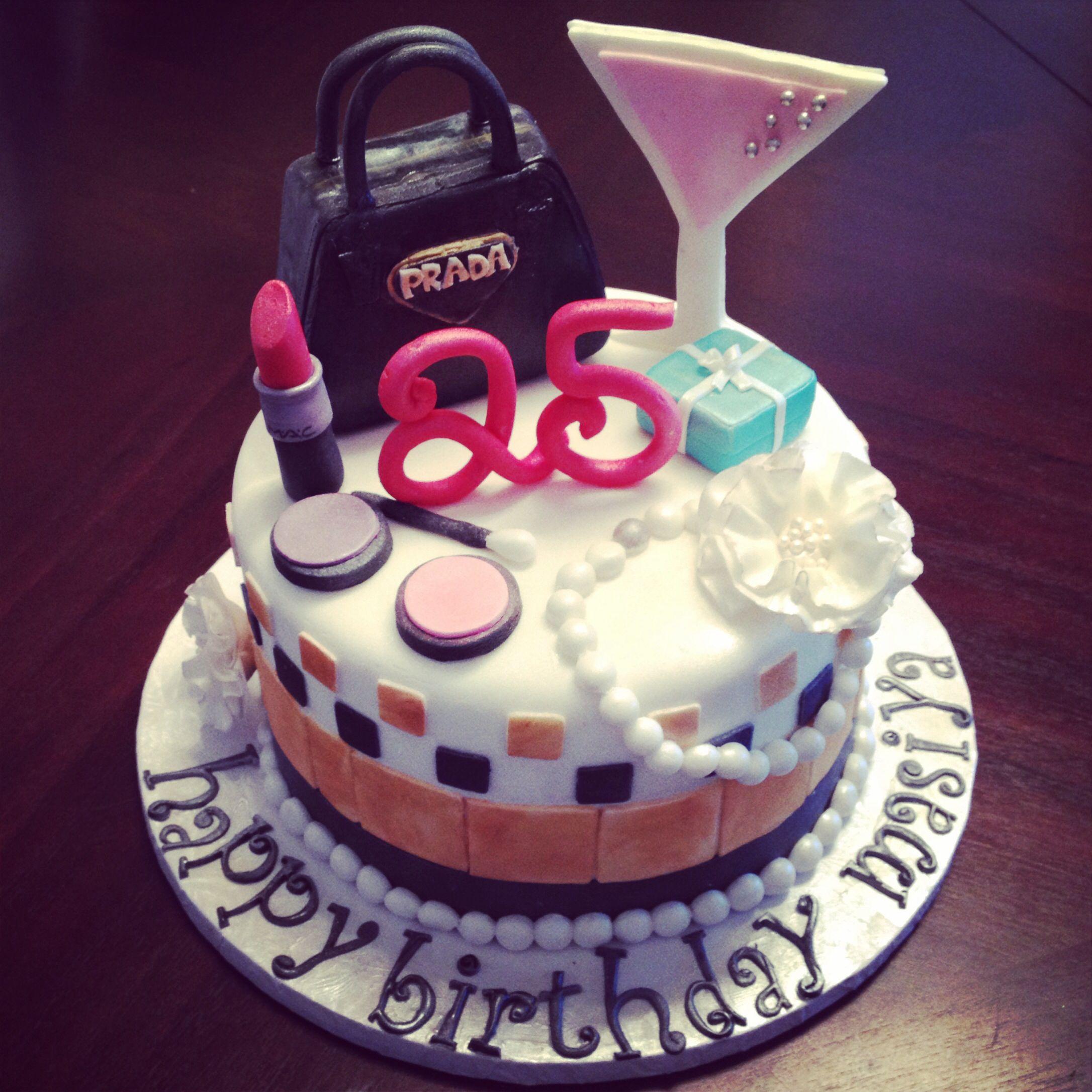 My 25th Birthday Cake Janes Patisserie