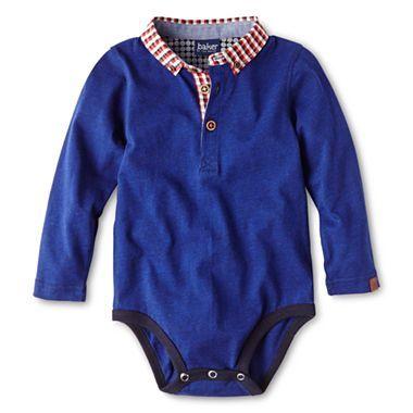 4e14149a2 Baker by Ted Baker Polo Shirt Bodysuit - Boys newborn-24m - jcpenney ...