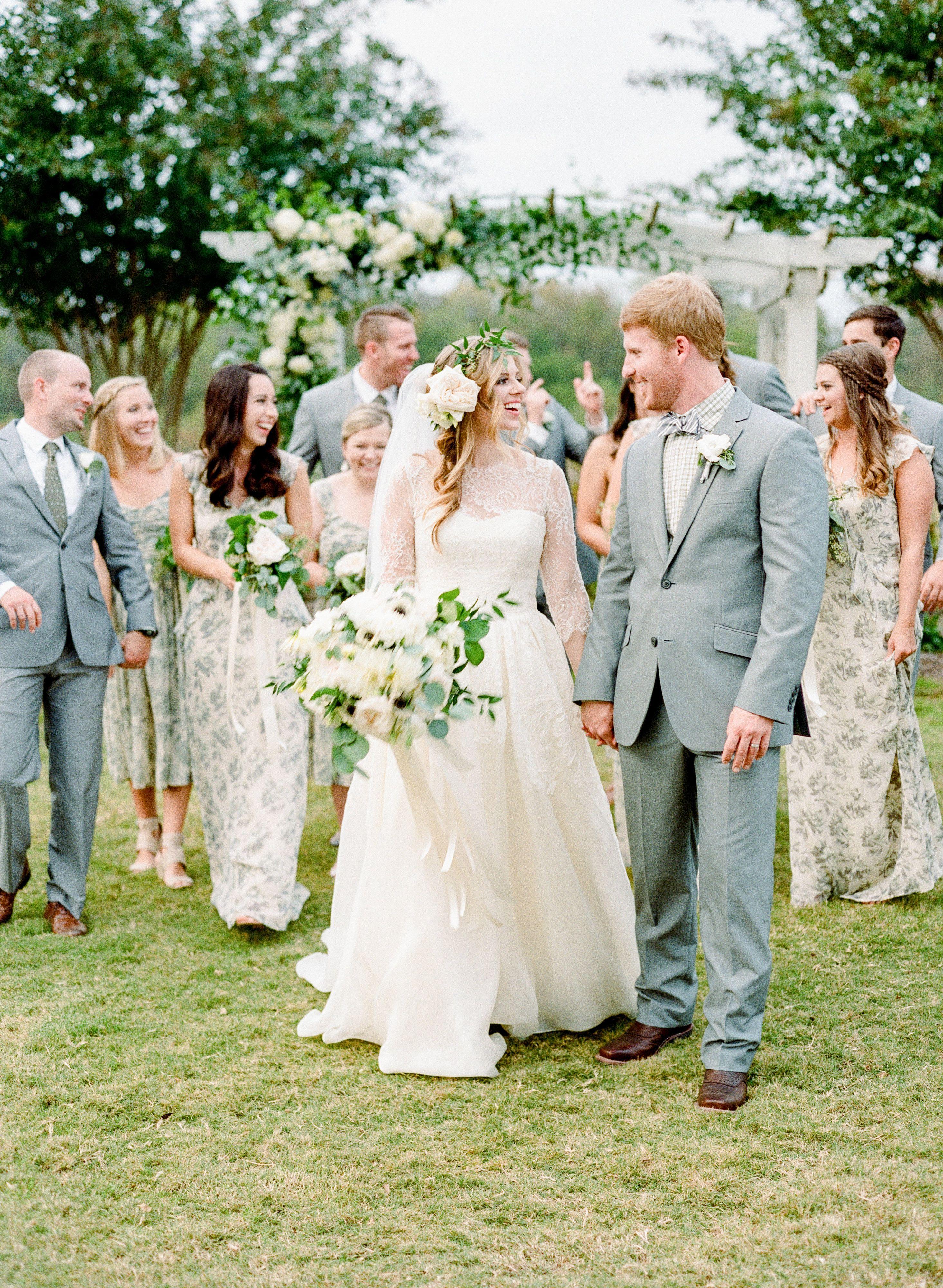 Wedding ceremony floral bridesmaid dresses southern weddings wedding ceremony ombrellifo Image collections