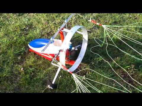 TOP FOX RC NEW Electric Powered Paraglider PARAMOTOR (1