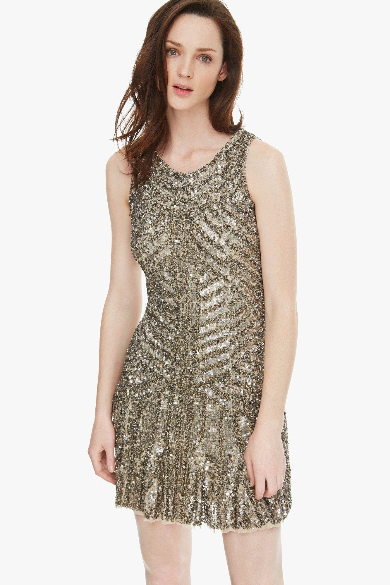Vestido joya de inspiración años 20