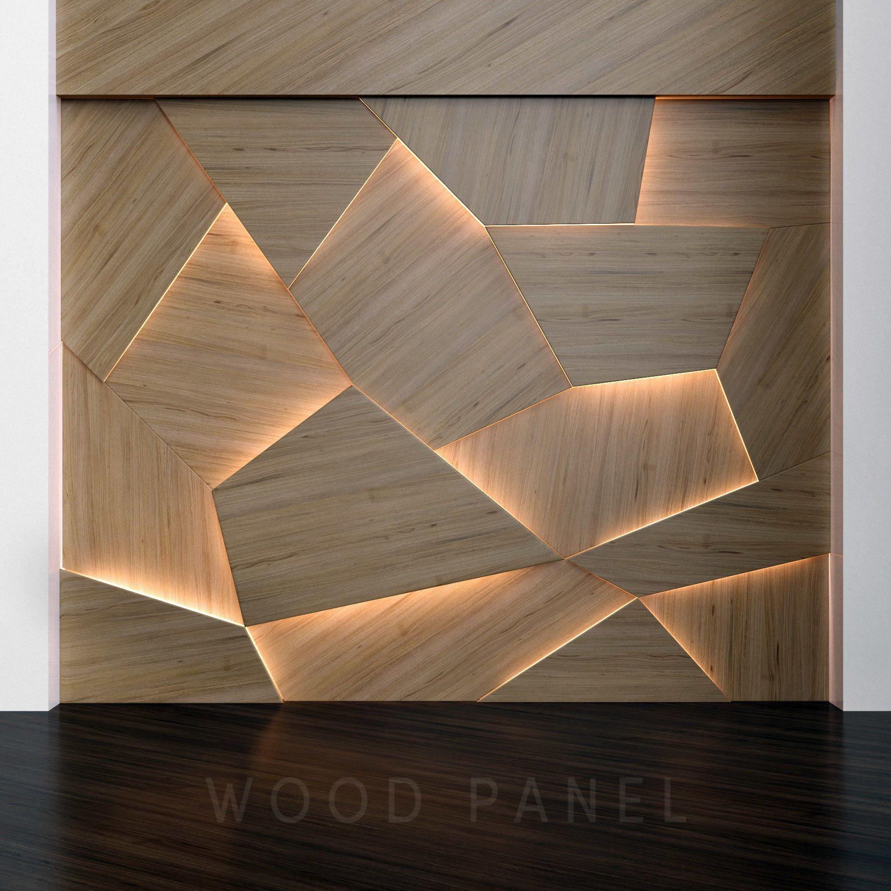 Wooden 3d Panels 3d Model Wooden Wall Design Wall Panel Design Wooden Wall Panels