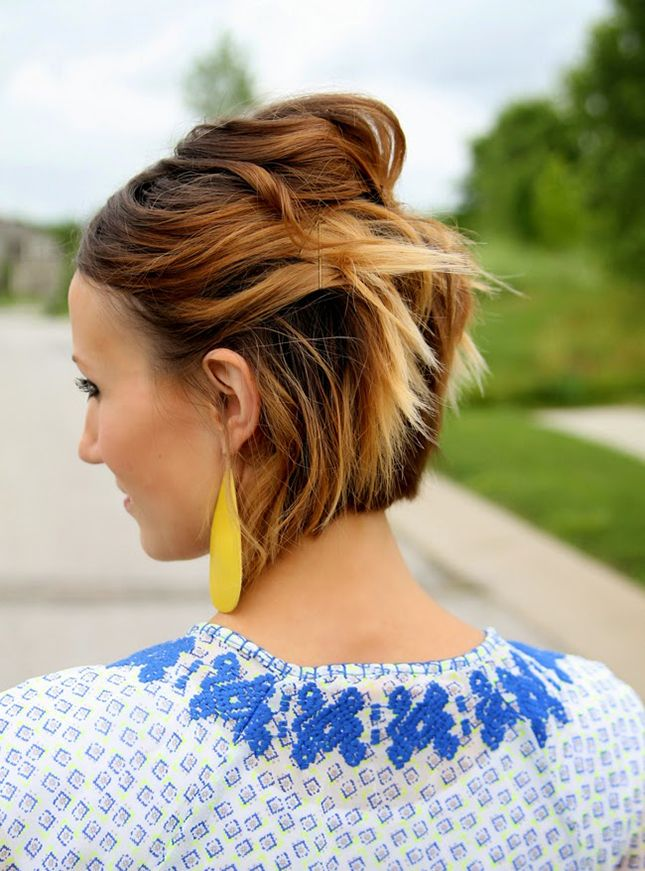 Ways To Style Short Hair 10Minute 'dos 12 Quick Ways To Style Short Hair  Short Hair