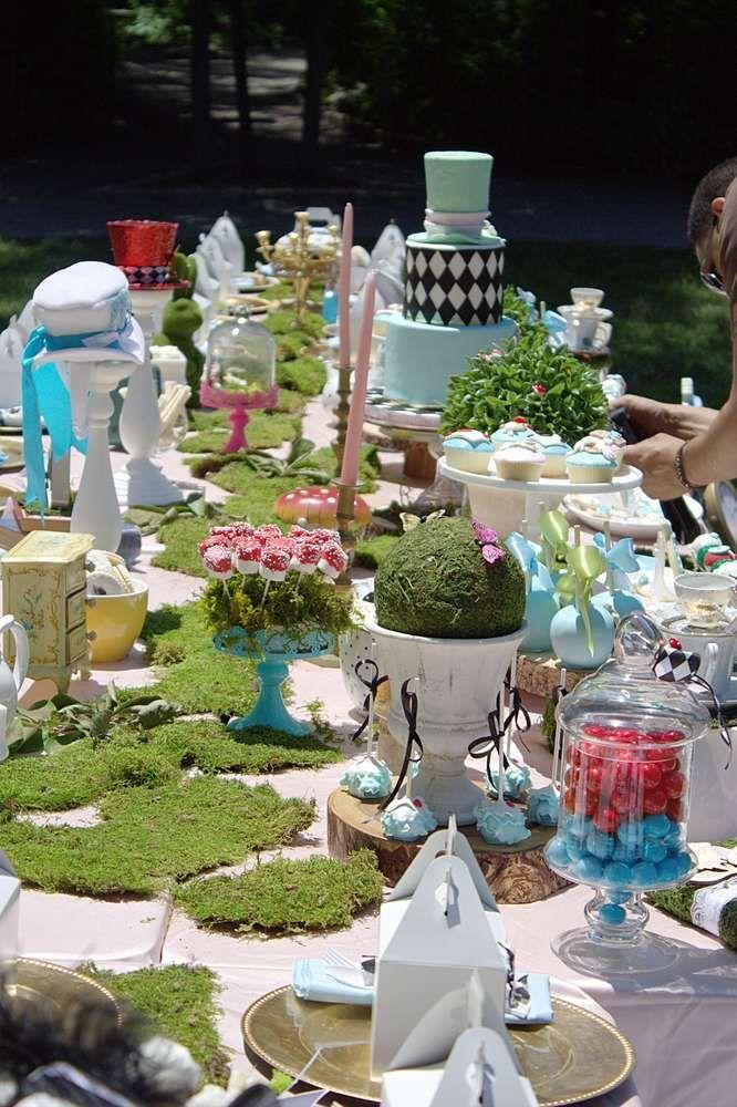 Alice in Wonderland Birthday Party Ideas | Alice, Wonderland party ...