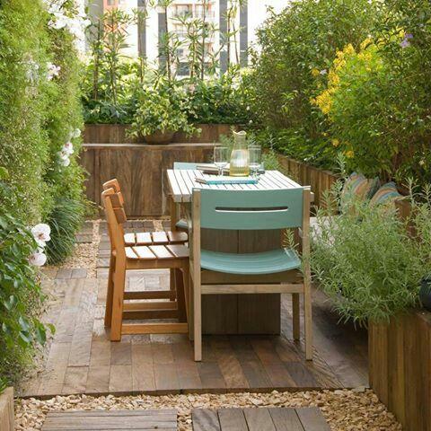 Idea para la terraza