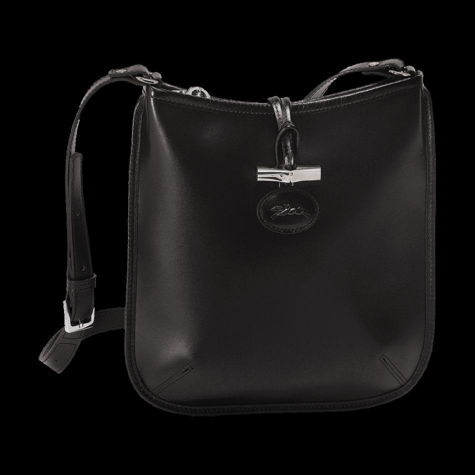 Crossbody bag - Roseau - Handbags - Longchamp - Black - Longchamp ...