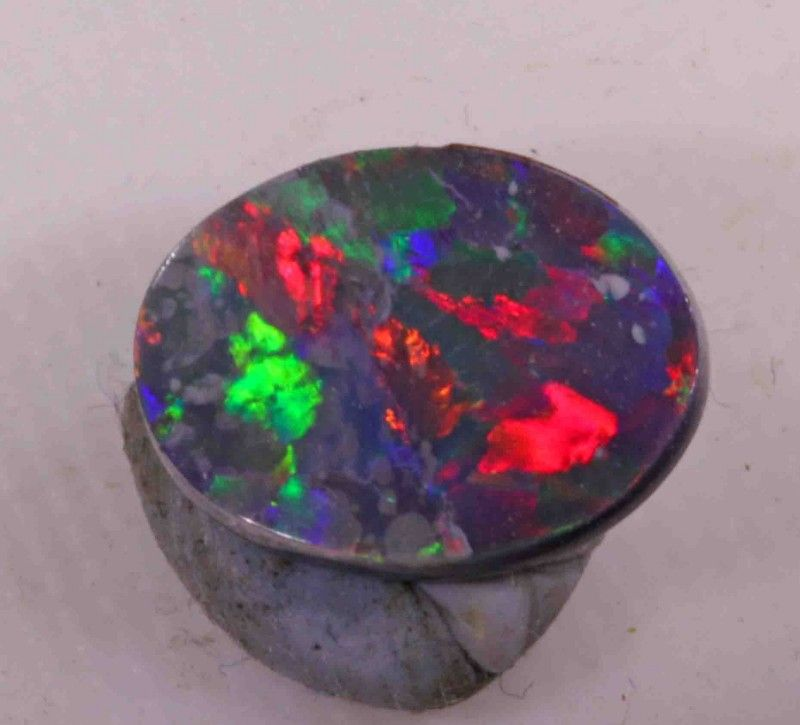 FREE SHIPPING 1.60 CTS BLACK OPAL FROM LR