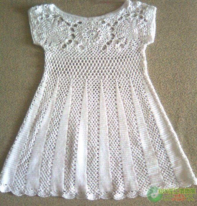 Vestido | ropa infantil | Pinterest | Crochet, Crochet patterns and ...