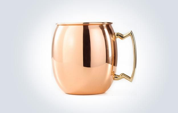 Two Copper Moscow Mule Pint Mugs!