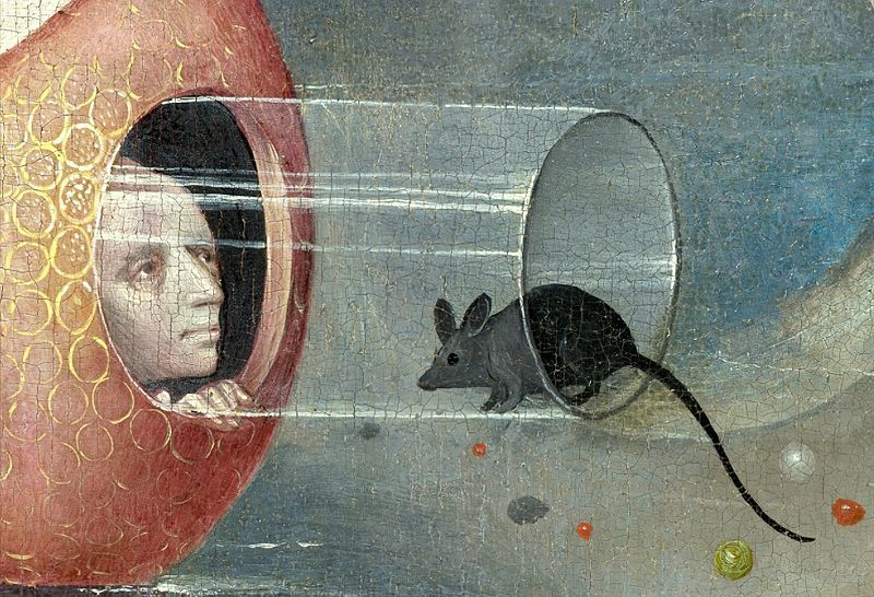 From The Garden of Earthly Delights by Hieronymus Bosch