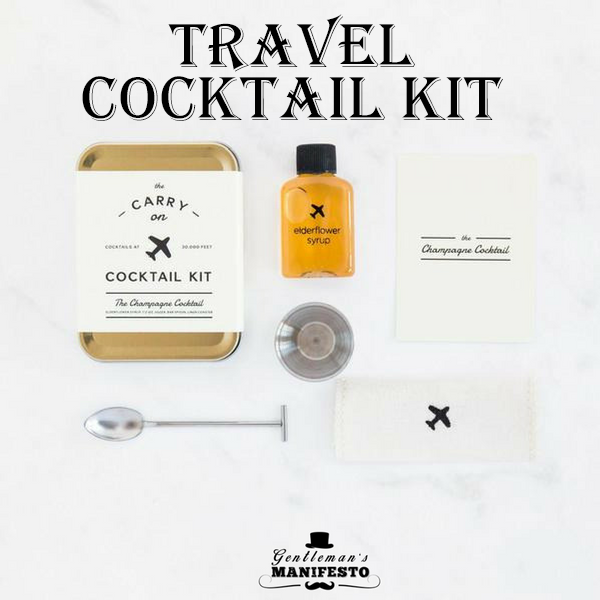 Travel Cocktail Kit.  #cocktails #cocktail #champagne #whiskey #bourbon #hospitalitylife #hospitality #wine #wineandfood #travels
