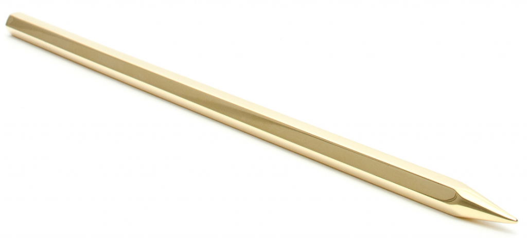 Coleoptere Die Schrift Gold Pencil