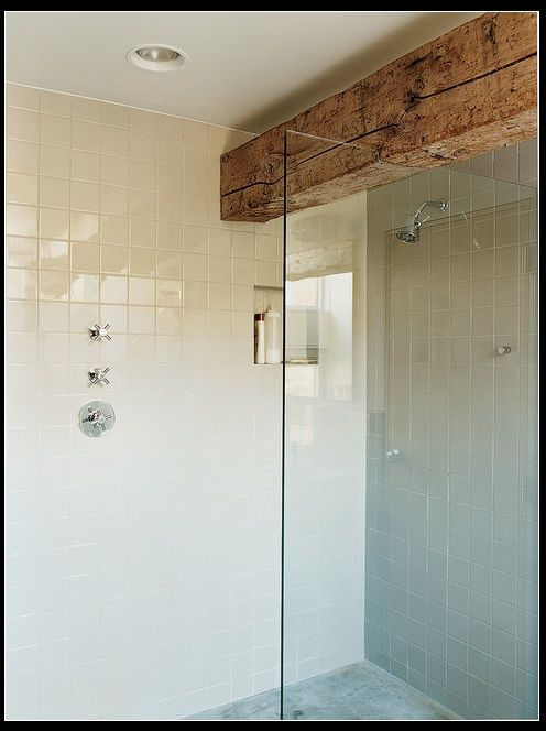 bathroom Inspired Design Pinterest Beams, Antique wood and
