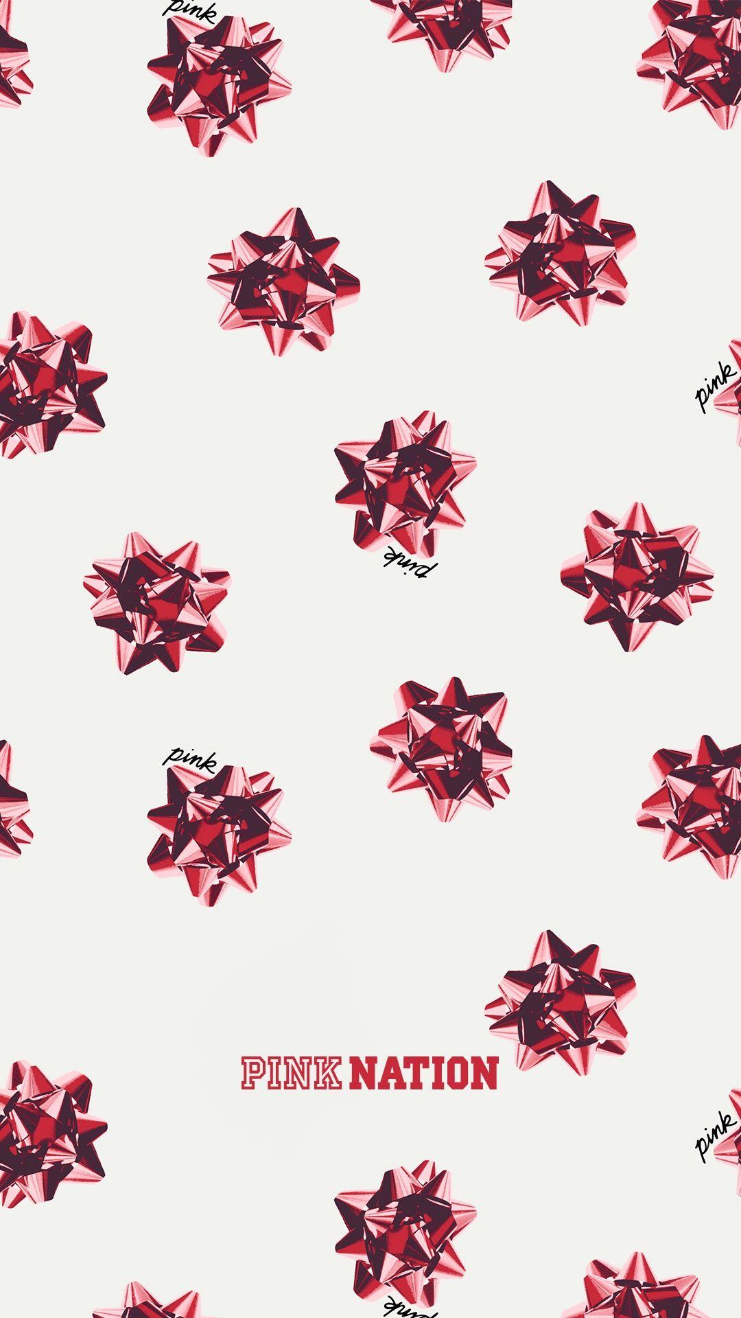 Vs Pink Holiday Season 2017 Wallpaper Pink Wallpaper