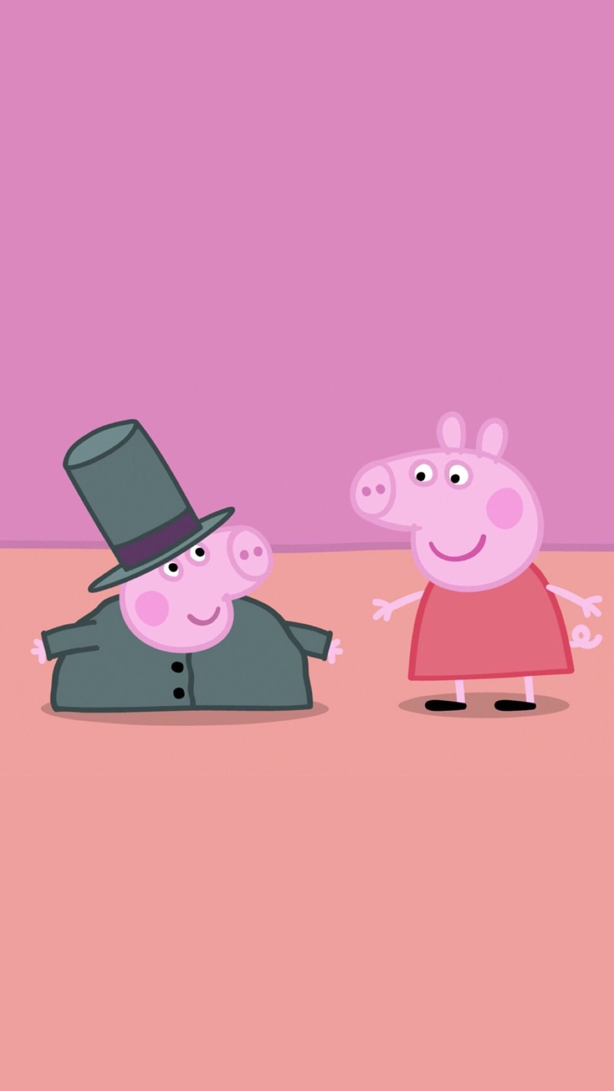 Peppa Pig Wallpaper What Are You Doing On My Phone 3d Wallpapers Peppa Pig Wallpaper Pig Wallpaper Peppa Pig Background