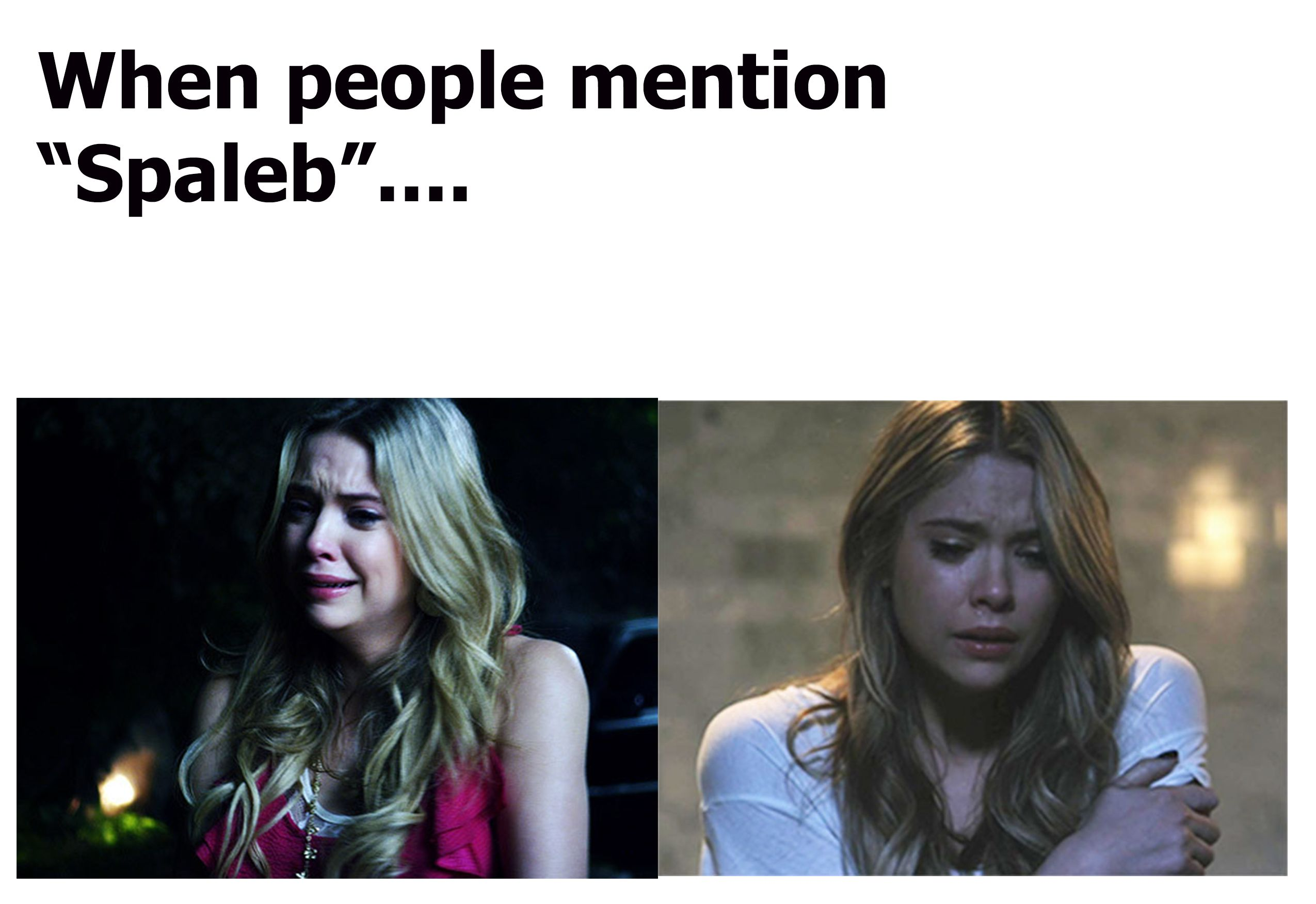 The actual pictures are of Ashley Benson from google.com I just added the text.