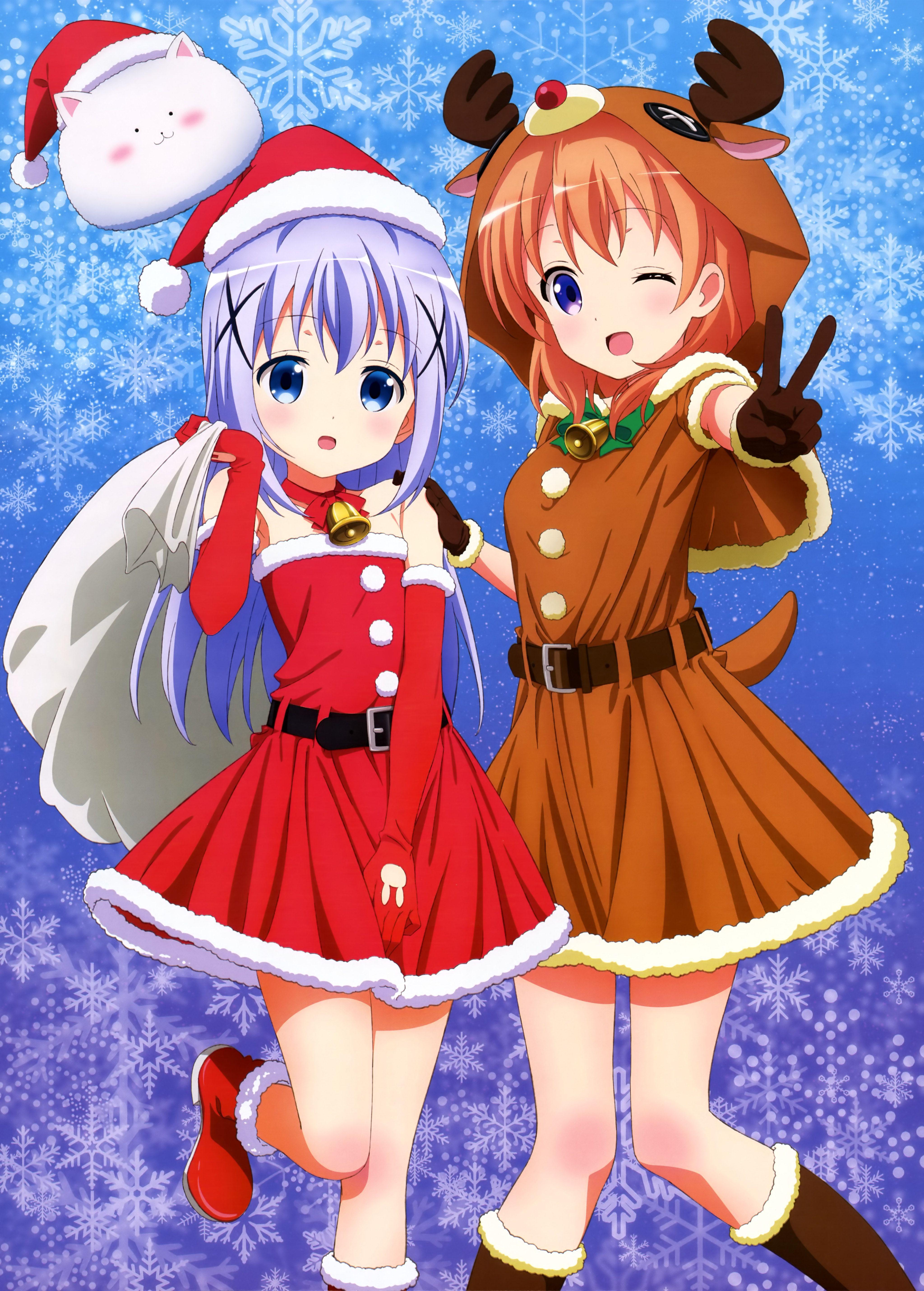 Gochuumon Wa Usagi Desu Ka Is The Order A Rabbit Mobile