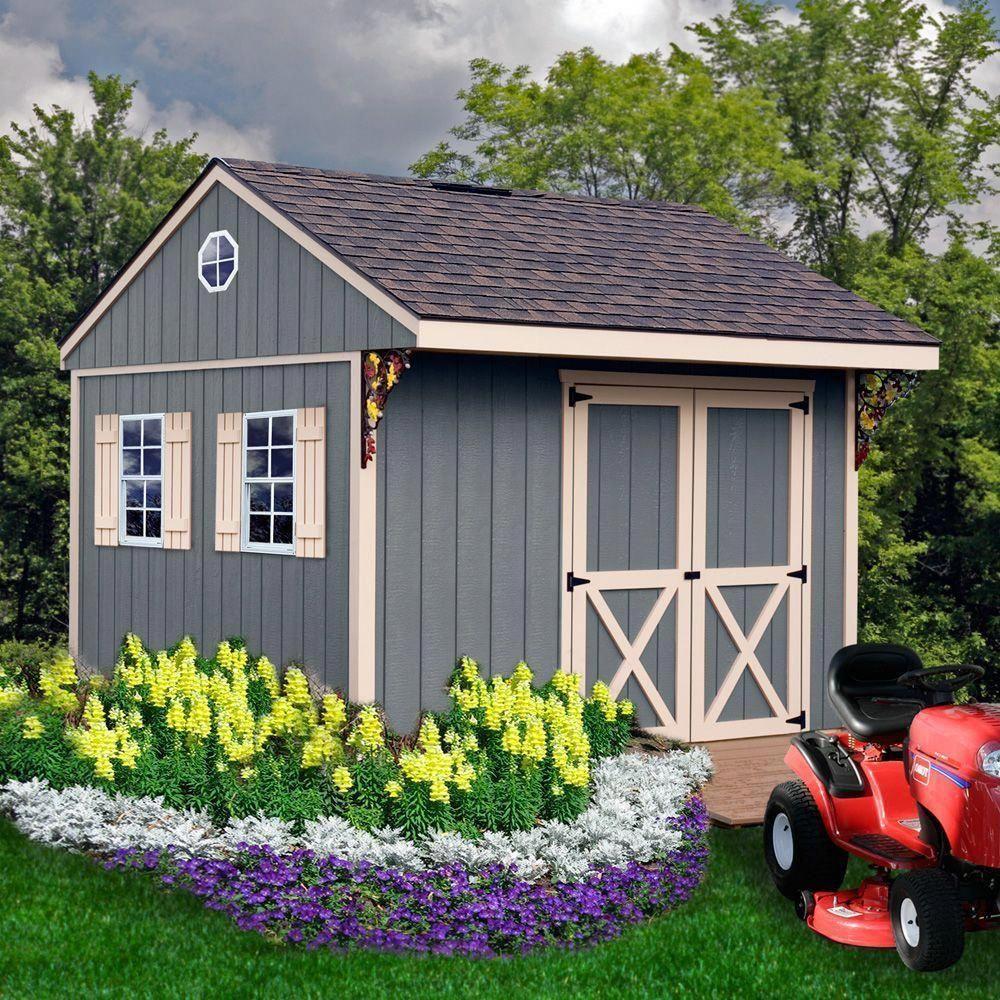 Best Barns Northwood 10 Ft X 10 Ft Wood Storage Shed Kit