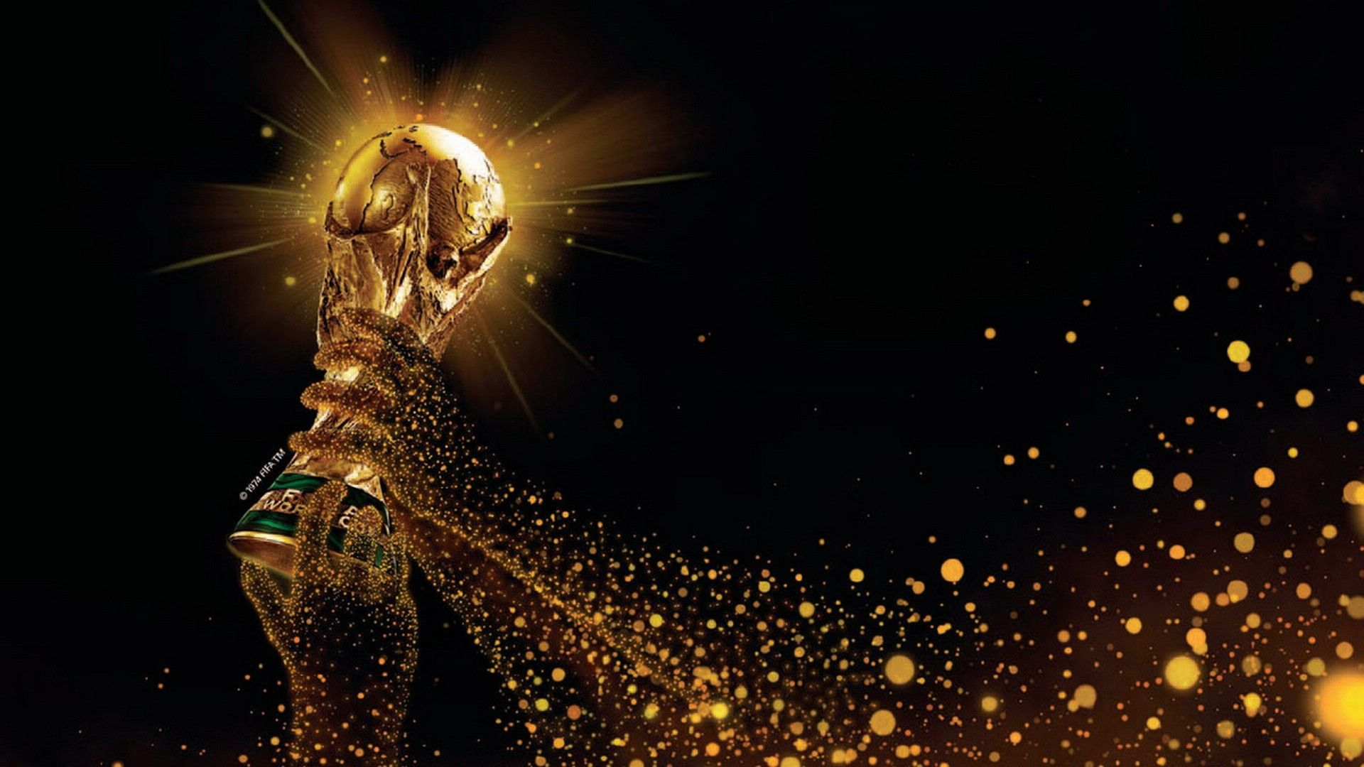 Spots Küchenschrank Fifa World Cup 2014 Brazil Trophy Wallpapers Cosas