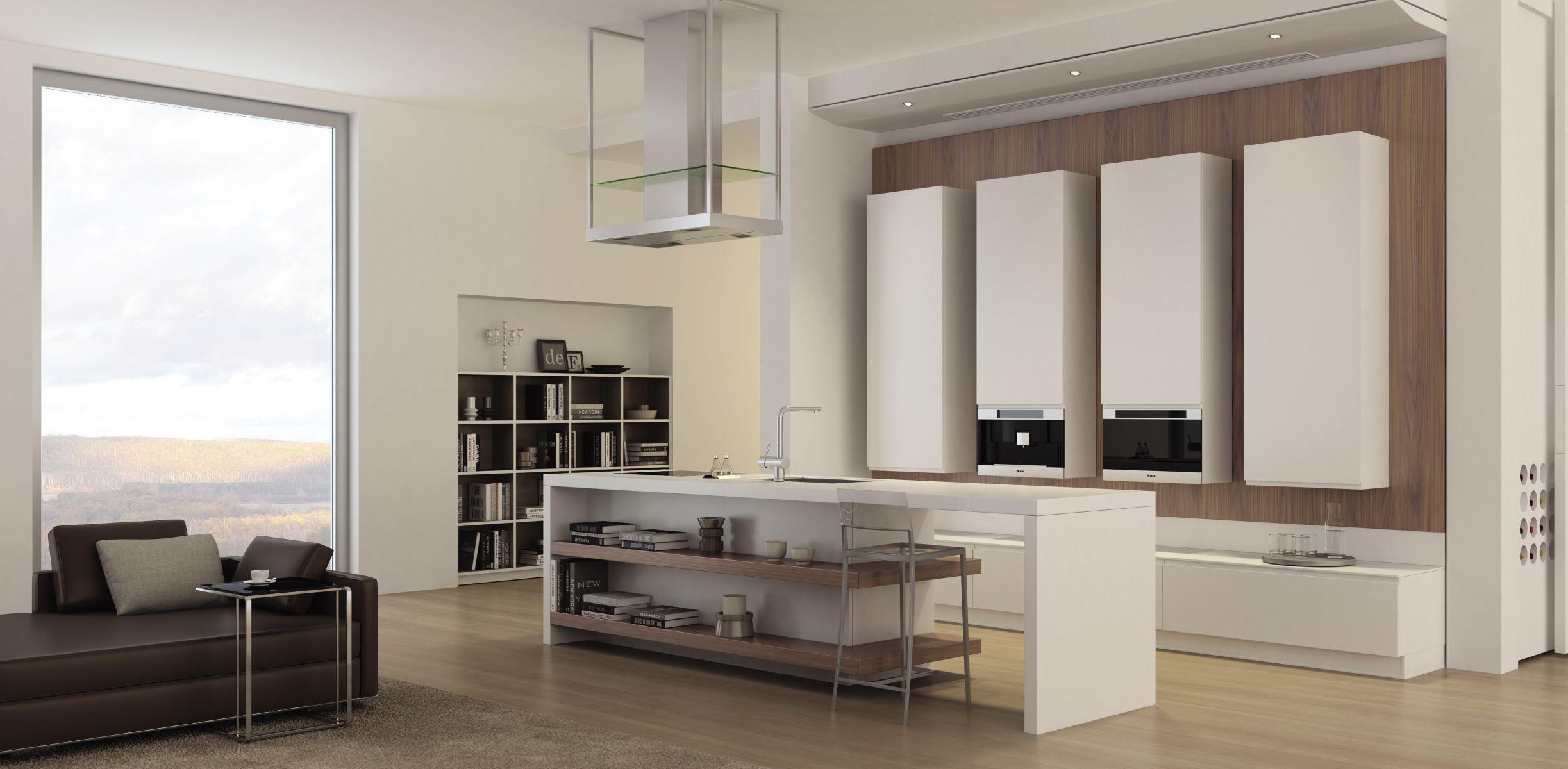 Кухня-гостиная в стиле «минимализм» (32 фото): дизайн ...