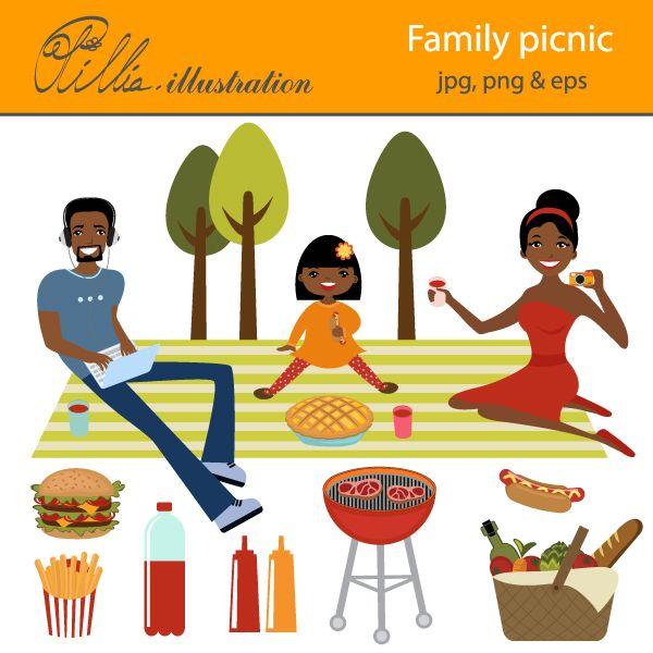 family picnic clipart - photo #5