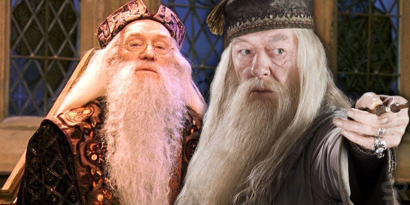 Why Harry Potter Recast Dumbledore After Chamber Of Secrets Chamber Of Secrets Michael Gambon Dumbledore