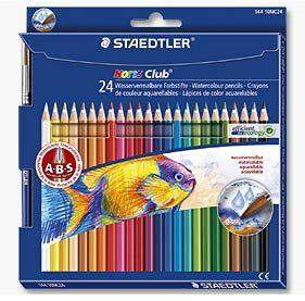 Staedtler Noris Club Watersoluble Colour Pencils Watercolor