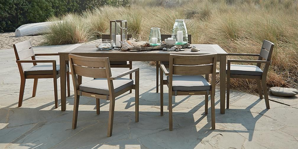 Outdoor Furniture Collections Dining And Lounge Crate And Barrel Outdoor Dining Furniture Outdoor Furniture Patio Dining Furniture