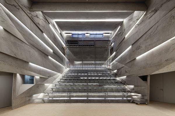 Konzerthaus Blaibach Blaibach, Germany. Peter Haimerl Architektur.
