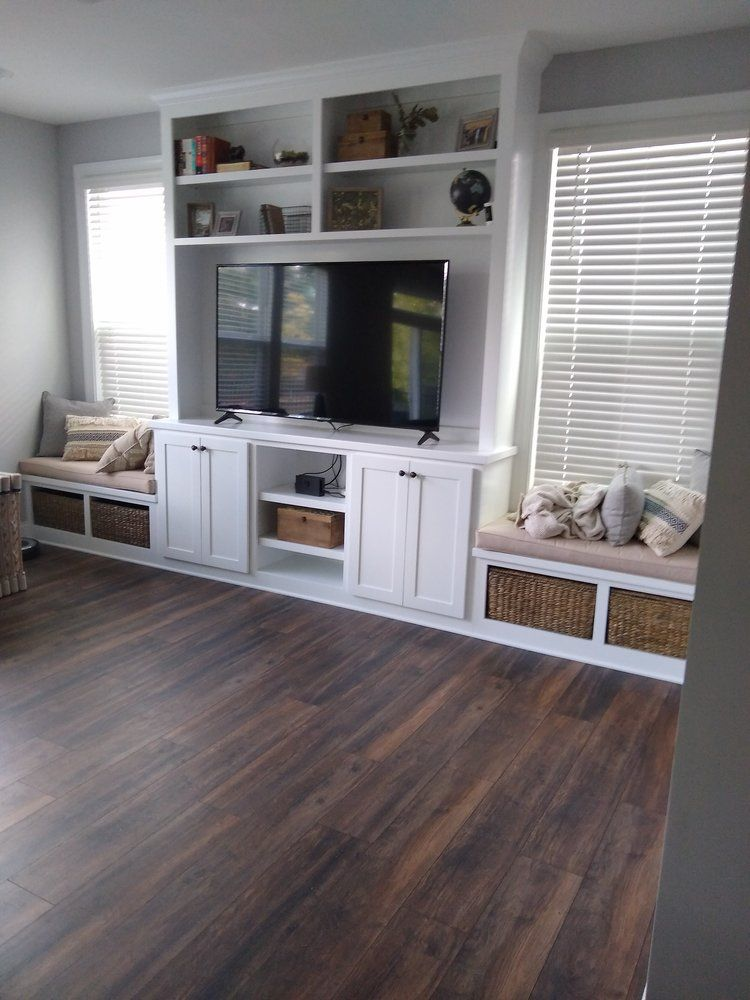 Pin By Suzette Parker On Home Ideas Built In Shelves Living Room Living Room Built Ins Living Room Entertainment Center In progress living room carpentry