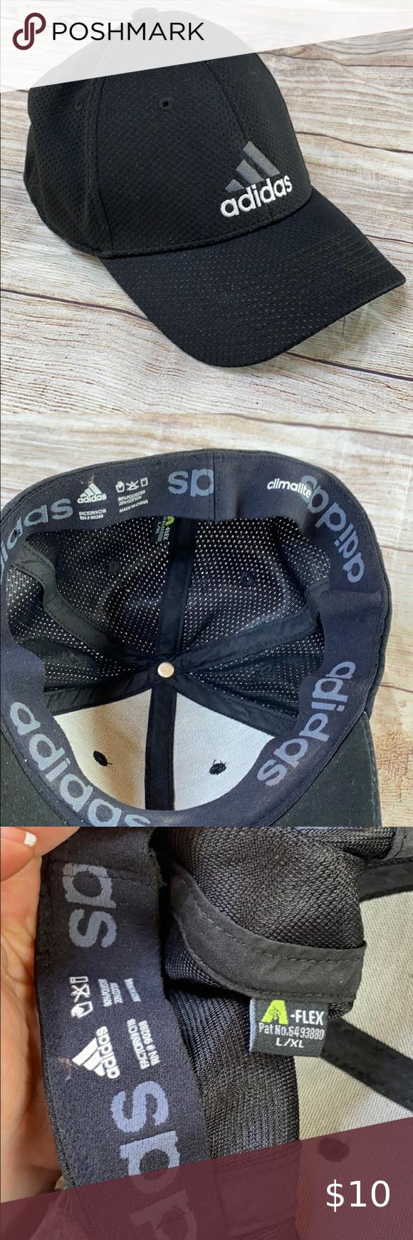 5 25 Adidas Hat L Xl Flex Fit Hats Adidas Hat Adidas