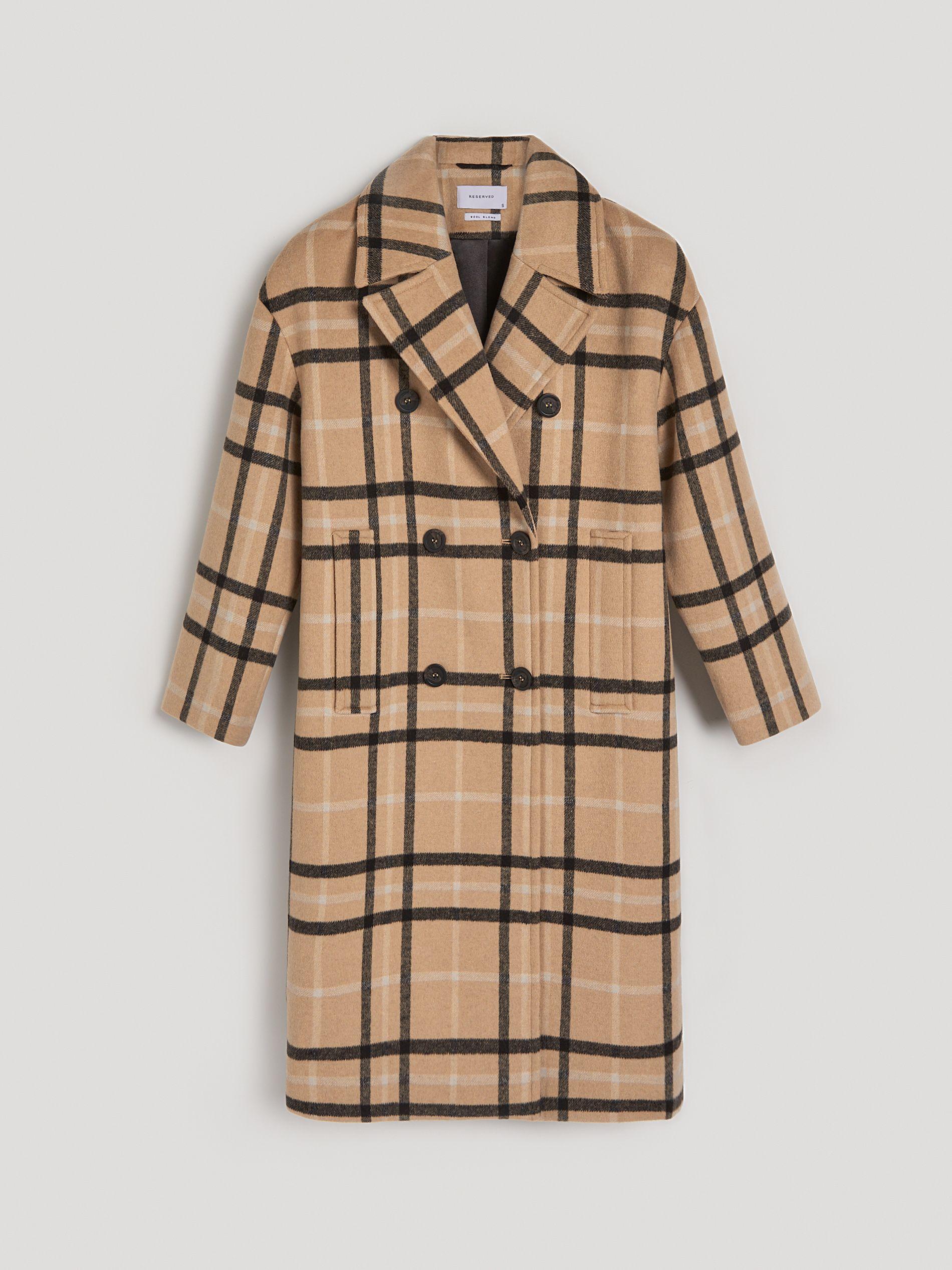 wie kommt man verschiedene Stile noch nicht vulgär Jetzt shoppen! Mantel mit Wolle, RESERVED, UI290-MLC in 2019 ...