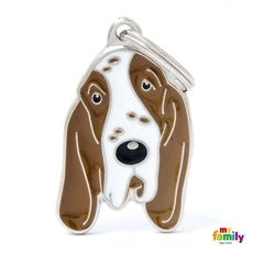 Show details for Italian Pointer  dog tag Free incision www.myfamily.it