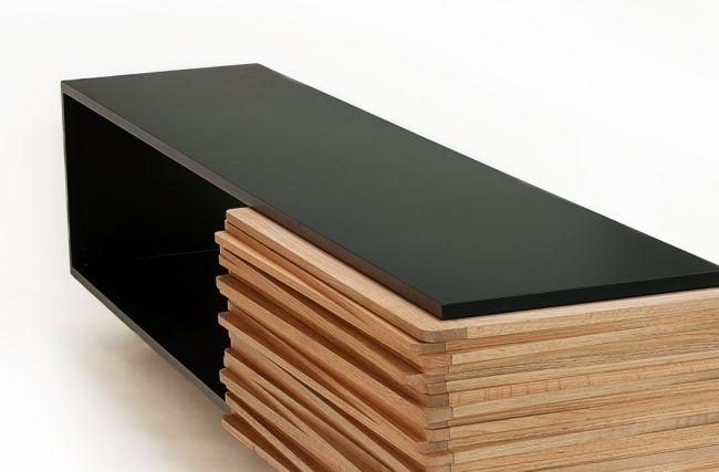Beau Modernes Designer Sideboard Aus Holz  U201cStack Buffetu201d Von Hector Esrawe # Buffet #