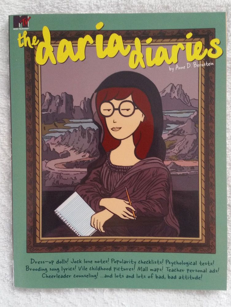 Mtv Music Television The Daria Diaries By Anne D Bernstein Daria Diary Book American Literature Books