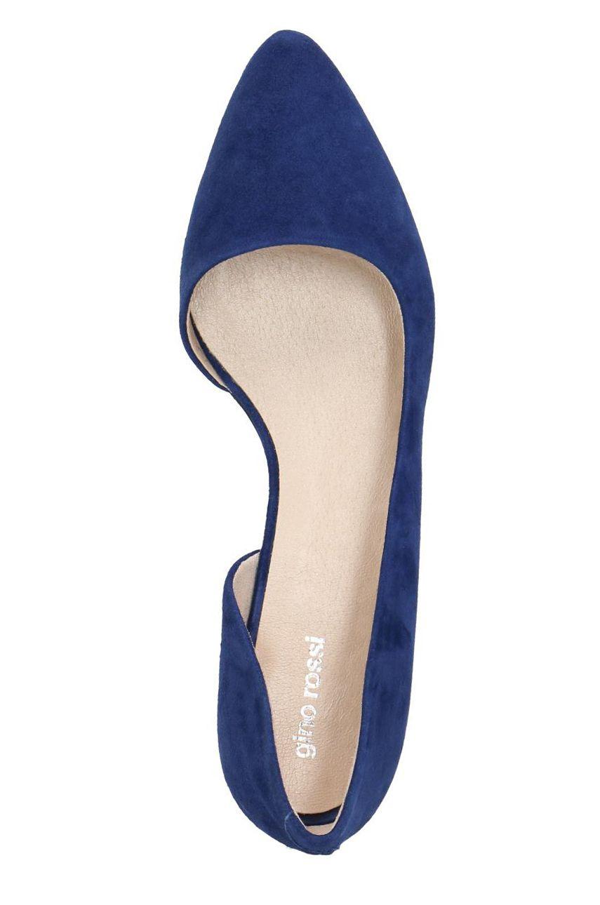 Baleriny Ai Dah750 An7 4900 5700 0 Niebieski Shoes Fashion Flats