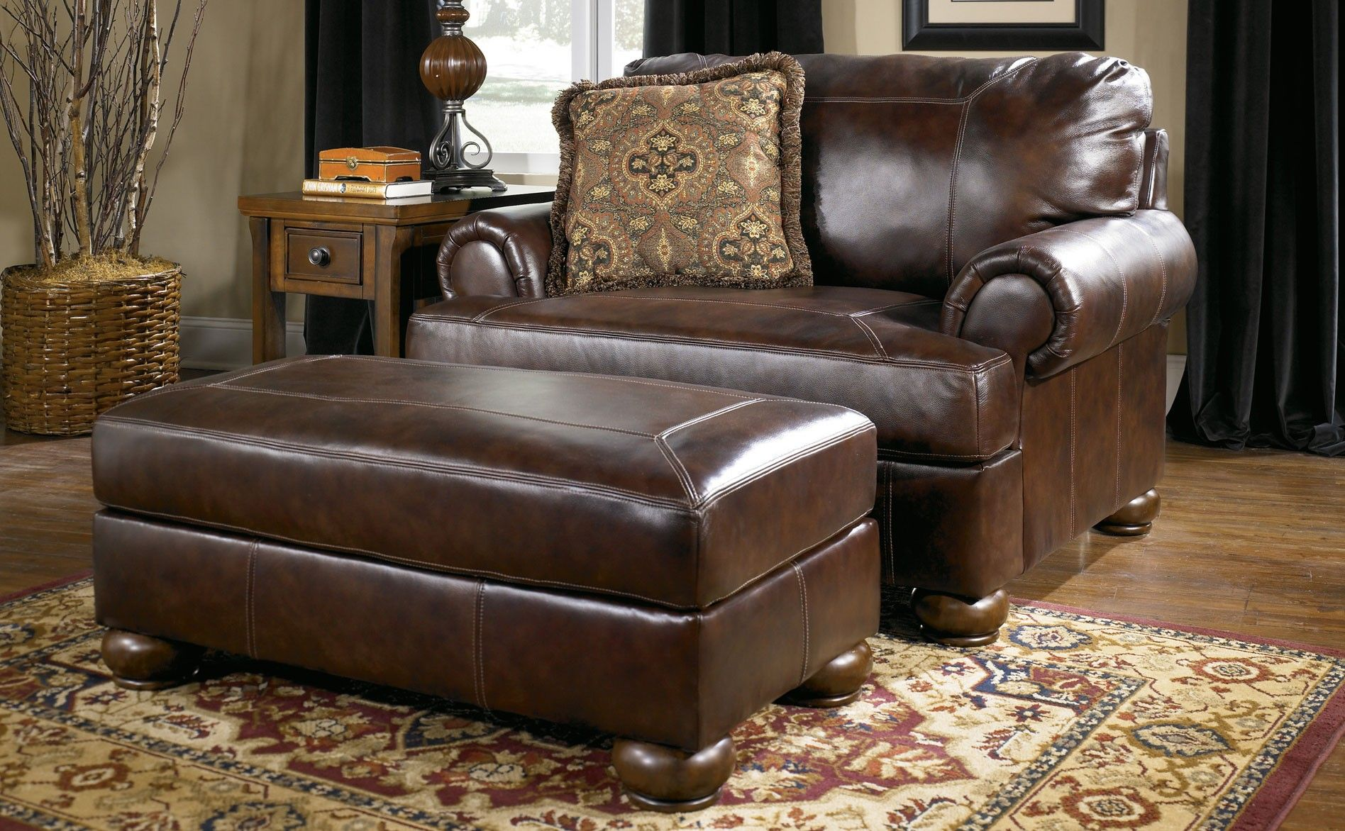 Great Leather Chair And A Half With Ottoman 11 With Additional Modern Sofa Ideas W Leather Living Room Furniture Living Room Sets Furniture Living Room Leather