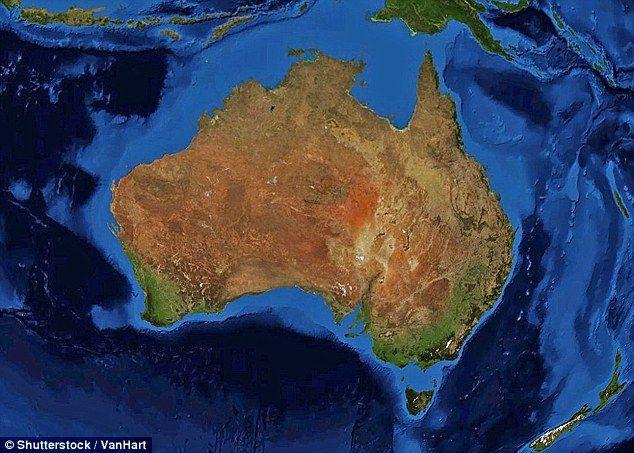 Australia Map Satellite.Australia Tilts And Spins With The Seasons La Terre Australia