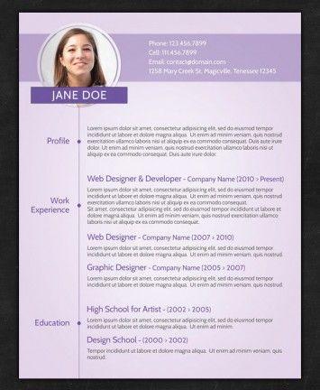 Resume Online Template Free Online Resume  Online Free Cv  Pinterest  Online Resume