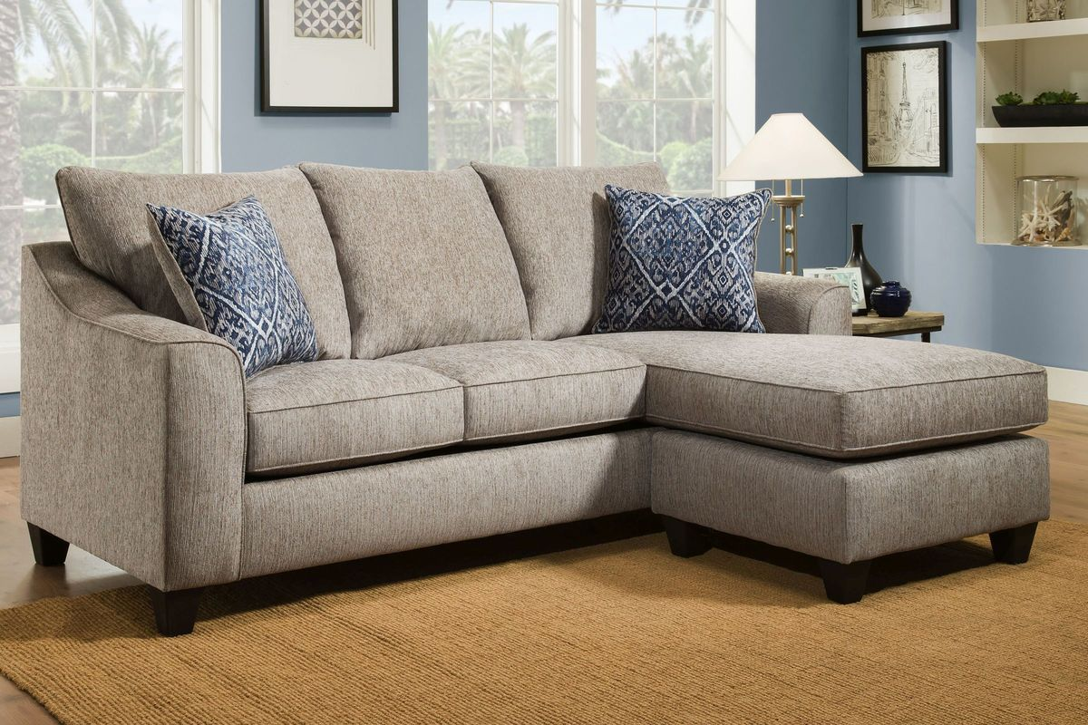 Mineral Sofa With Moveable Chaise At Gardner White Sofa Front Room Chaise