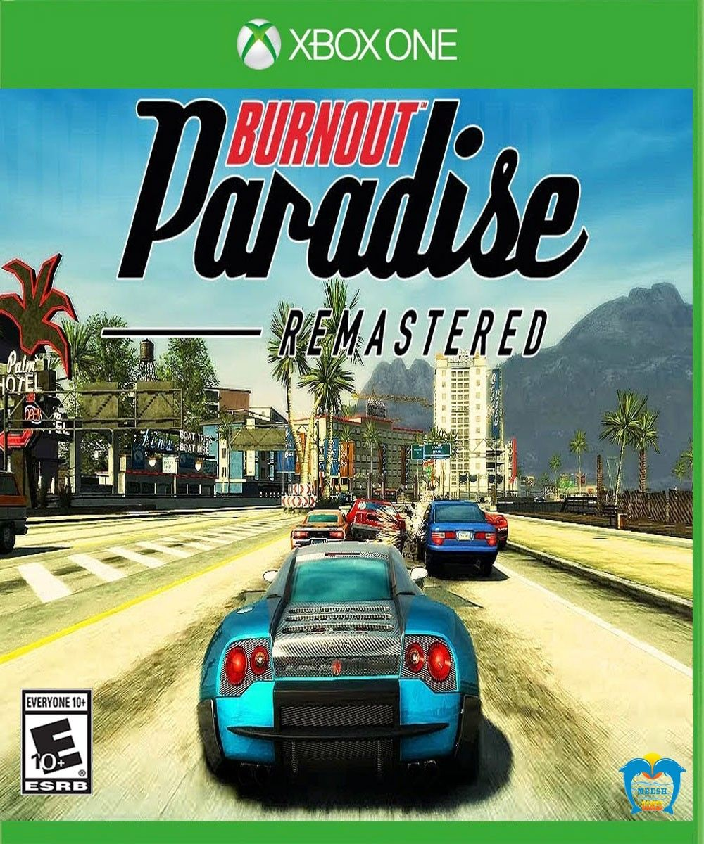 Burnout Paradise - Remastered | Xbox One Games | Xbox one, Burnout