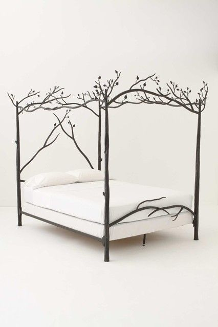 anthropologie forest canopy beds bed frames four poster beds houseandgardenco - Poster Bed Frame