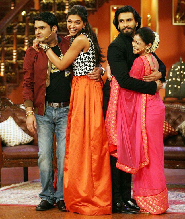 Deepika Ranveer S Comedy Nights With Kapil Deepika Ranveer Comedy Nights With Kapil Bollywood