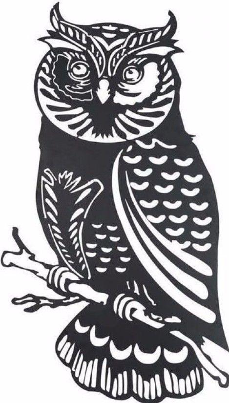Plasma cut Owl Metal Wall Art Home Decor