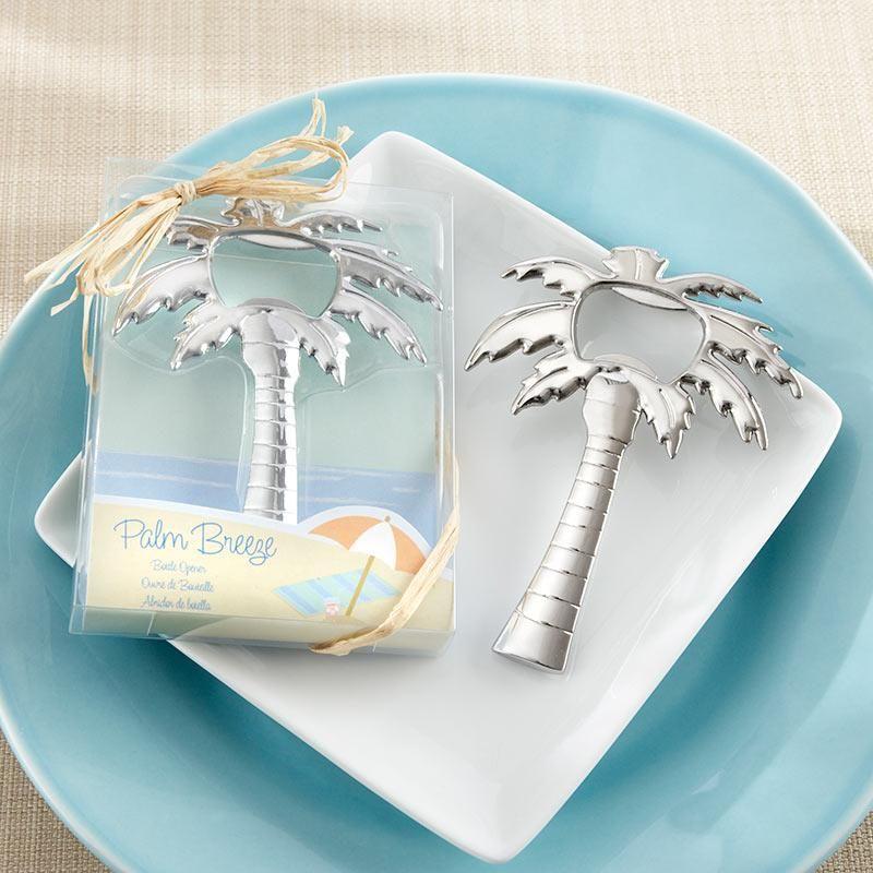 Palm Breeze Chrome Palm Tree Bottle Opener