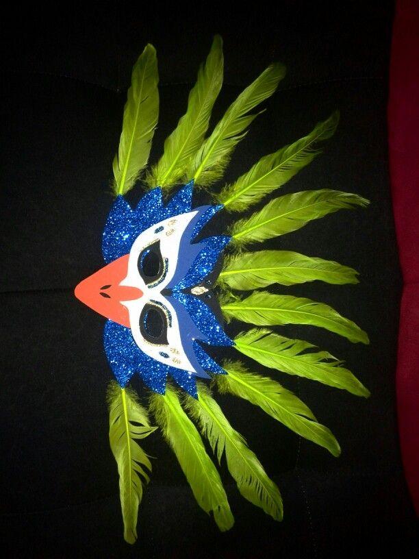 Mascara de pavo real! | creaciones | Pinterest | Pavos reales, Pavo ...