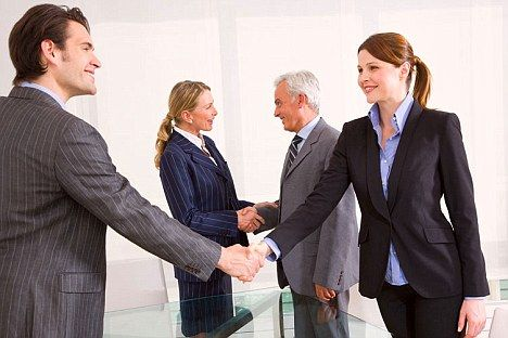 Business etiquette how to make a correct greeting ap marketers business etiquette how to make a correct greeting m4hsunfo Gallery
