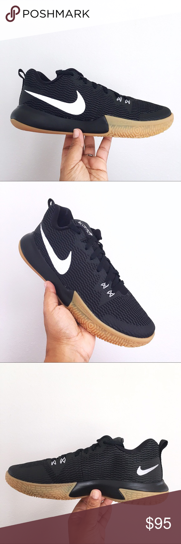e5e22c55d311 Nike Zoom Live II Black Reflective Silver Mens Brand New in Box WITH Lid  🙌🏽 Nike Zoom Live II Black Anthracite Gum Light Brown Reflect Silver Mens  AH7566 ...