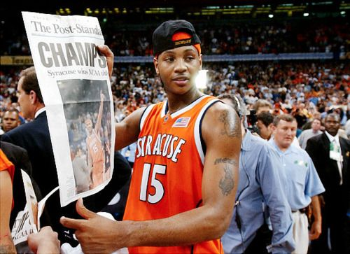 3151e2e7faf NCAA MVP Carmelo Anthony -- The Best Syracuse Game I Have Ever Been Too :)