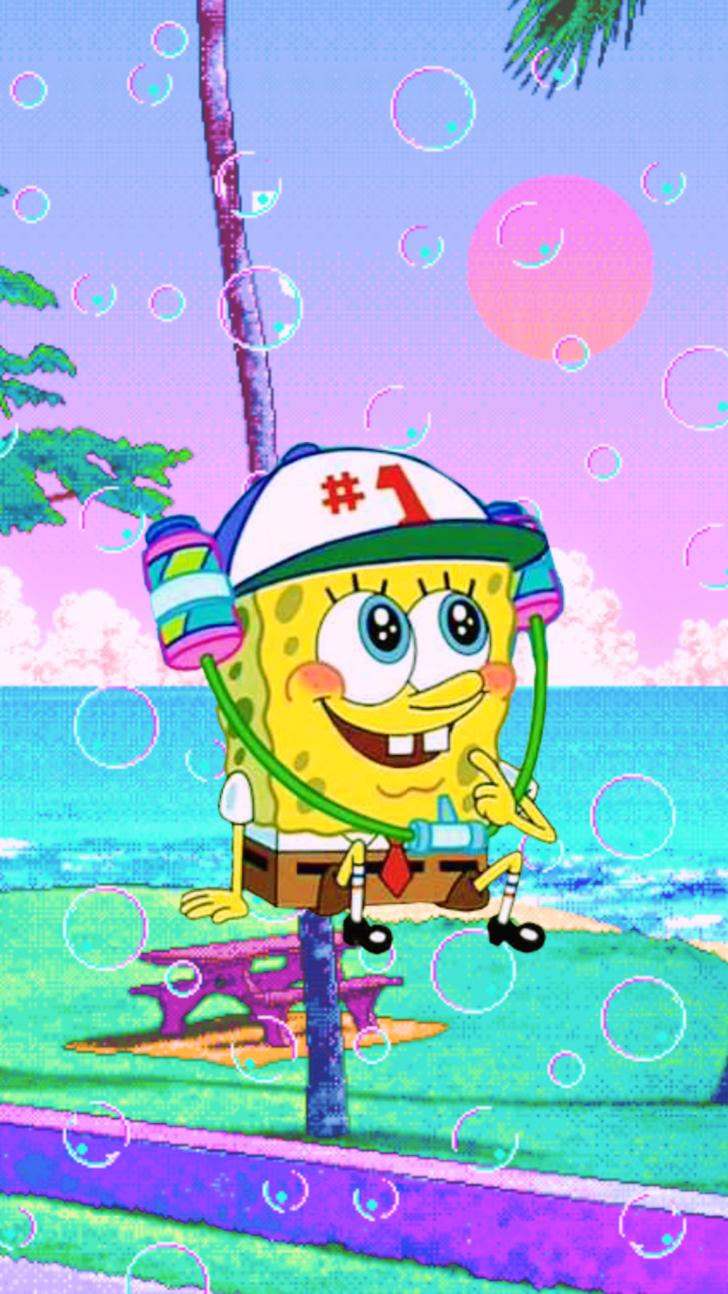 Spongebob Aesthetic Phone Wallpapers 3 Spongebob Wallpaper Cartoon Wallpaper Iphone Disney Wallpaper
